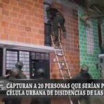 Capturan a 20 personas que serían parte de célula urbana de disidencias de las Farc en Cali