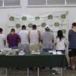 CAPTURAN A CUATRO POLICÍAS POR INTEGRAR UNA BANDA DEDICADA AL TRÁFICO DE DROGAS EN CALI