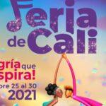 FERIA DE CALI 2021 YA TIENE AFICHE OFICIAL
